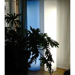 Цилиндр световой Cilindro Est Bianco, h-80, base E1 (LPCIE080A)   SLIDE Италия