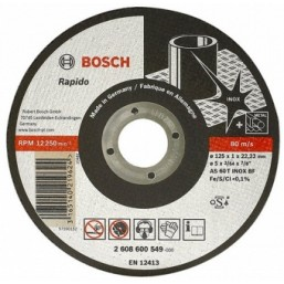 ОТРЕЗНОЙ КРУГ INOX 125X2 ММ 2608600094 Bosch