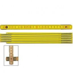 Складной метр Stabila тип 700, деревянный желтая, тип 701