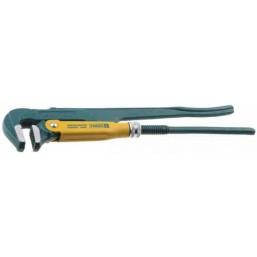 """Ключ KRAFTOOL трубный, тип """"PANZER-L"""", прямые губки, Cr-V сталь, 1 1/2""""/440мм"""
