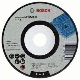 Обдирочный круг Standard по металлу 125х6мм SfM, вогнутый