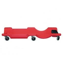 Лежак ремонтный на 6-ти колесах, пластиковый MATRIX 567485