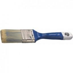 """Кисть плоская STAYER  """"AQUA-KANEKARON"""", искусственная щетина, деревянная ручка, 63мм"""