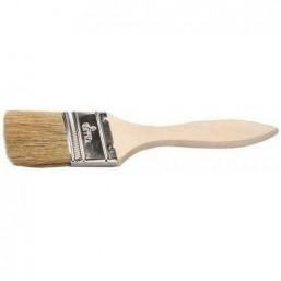 """Кисть флейцевая DEXX """"ПРАКТИК"""" , деревянная ручка, натуральная щетина, индивидуальная упаковка, 50мм"""