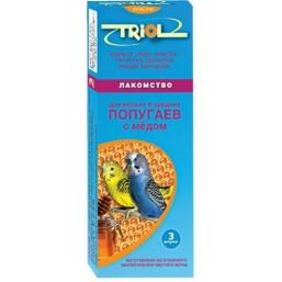 Е103 Триолл- Криспи лакомство для мелк.и сред.попугаев с медом