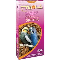 Е071 Триолл- Криспи-Экстра корм для мел.сред.поп