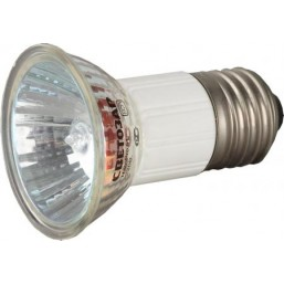 Лампа галогенная СВЕТОЗАР с защитным стеклом, цоколь E27, диаметр 51мм, 75Вт, 220В