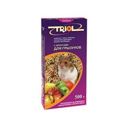 Е077 Триолл- Криспи корм для грыз.с фруктами
