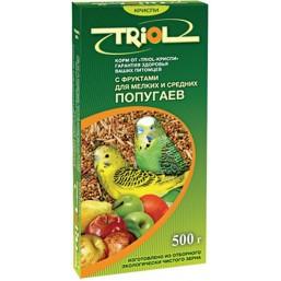 Е073 Триолл- Криспи корм для мелк.и сред.попугаев с фруктами