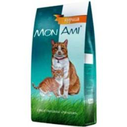 МонАми для взрослых кошек с мясом КУРИЦЫ   10кг