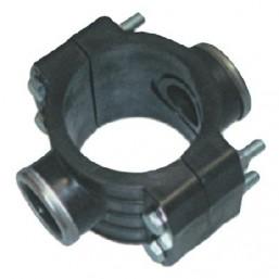 Двойное зажимное седло с усиливающим кольцом 90X3/4˝ 1027090003