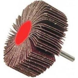 """Круг шлифовальный ЗУБР """"МАСТЕР"""" веерный лепестковый, на шпильке, тип КЛО, зерно-электрокорунд нормал (36604-080)"""
