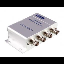 Пассивный 4-канальный приёмник видеосигнала по витой паре UTP PV-Link PV-401R
