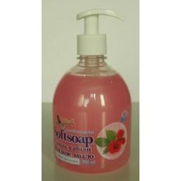 """Мыло   жидкое   """"Softsoap""""    0,5 л.   Роза"""