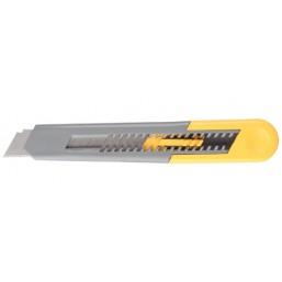 """Нож STAYER """"MASTER"""" с выдвижным сегментированным лезвием, автофиксация, 18мм"""