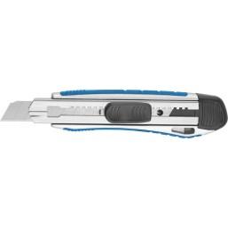 """Нож ЗУБР """"ЭКСПЕРТ"""" с сегментированным лезвием, метал обрезин корпус, автостоп, допфиксатор, кассета"""