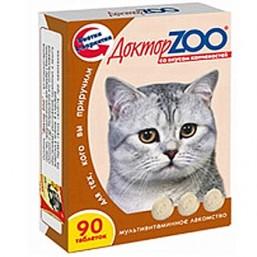 Доктор  ZOO  для кошек со вкусом копченостей