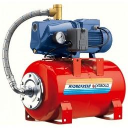Гидрофор с цилиндрической емкостью технополимер раб. колесо Pedrollo JSWm/10HX - 100CL
