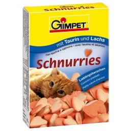 Витамины Gimpet 650 лосось (красные)
