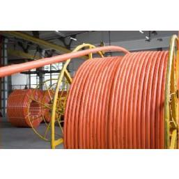 Защитная полиэтиленовая труба Ø50мм, толщина стенки 3,7мм (за 1пм)