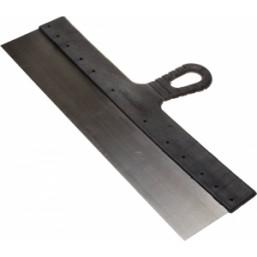"""Шпатель STAYER """"MASTER"""" фасадный стальной, с пластмассовой ручкой, 400мм"""