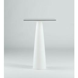 Hopla White стол квадратный d-79, высота 72