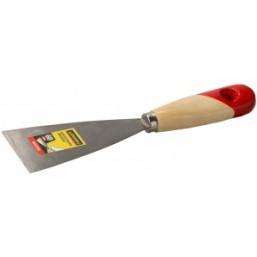 """Шпательная лопатка STAYER """"MASTER"""" c деревянной ручкой, 60 мм"""
