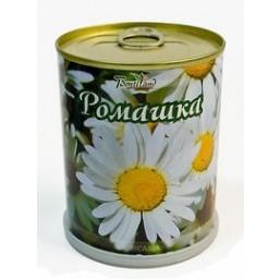 Ромашка цветок в банке BONTILAND (метал. банка, универсальный грунт, семена, высота-9,8см, диаметр-7,8см)