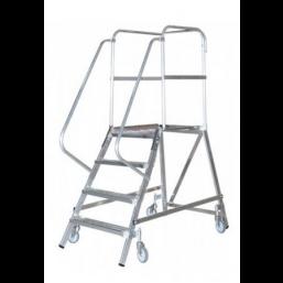 30220989 Передвижная лестница с платформой 3 ступ. H= 1,70/0,70/2,70 820136