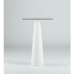 Hopla White стол квадратный d-79, высота 110