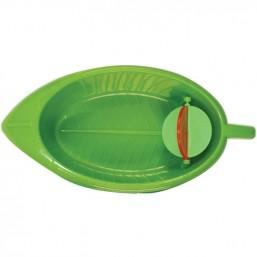 BR-11 Ванночка-листик пласт.д/птиц,18х9*4см (блист)