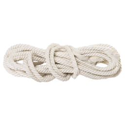 Веревка хб, D 16 мм, L 11 м, крученая, 497 кгс СИБРТЕХ 94004