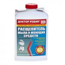 Доктор Робик 809 Расщепитель мыла и моющих средств (жидкость) 798 мл.