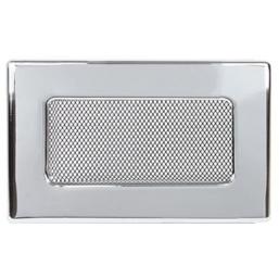 Решетка вентиляционная никелированная Dospel 11х11; 11х17; 11х24