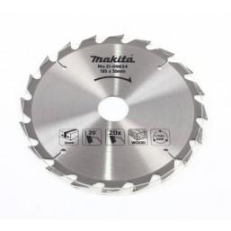 Пильные диски для дисковых пил 185х30х20 для дерева D-09634 Makita
