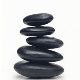 Галька черная плоская (мелкая фракция 5-10мм) 20 кг
