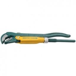 """Ключ KRAFTOOL трубный, рычажный, тип """"PANZER-V"""", изогнутые губки, цельнокованный, Cr-V сталь, 1/2""""/2"""