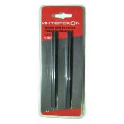 Комплект ножей для рубанка твердосплавная сталь 102х6х1,2 Интерскол 2091910200120