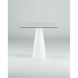 HoplaWhite стол квадратный d-69, высота 110