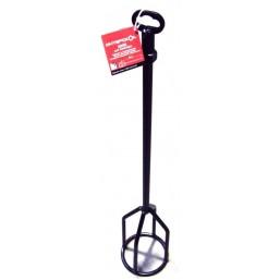 Насадка (шнек) для миксера D=120 мм, L=600 мм, М14 для густых составов Интерскол 2053960012001