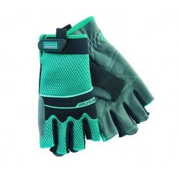Перчатки  комбинированные облегченные, открытые пальцы,  AKTIV, XL GROSS 90317