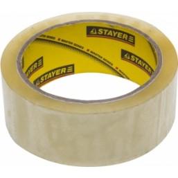 """Лента STAYER """"MASTER"""" клеящая,   прозрачная, толщина 45 мк, 48мм х 25м"""