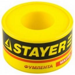 "Фумлента STAYER ""MASTER"", плотность 0,40 г/см3, 0,075ммх19ммх10м"