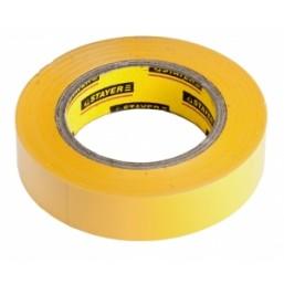 """Изолента STAYER """"PROFI"""" желтая ПВХ, на карточке, 15 мм х 10 м х 0,18мм"""