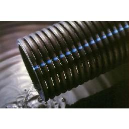 Дренажная полиэтиленовая гофрированная труба 110мм  EN 50086-2-4 (за 1пм)
