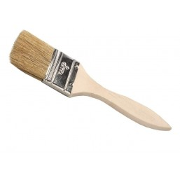"""Кисть флейцевая DEXX """"ПРАКТИК"""" , деревянная ручка, натуральная щетина, индивидуальная упаковка, 38мм"""