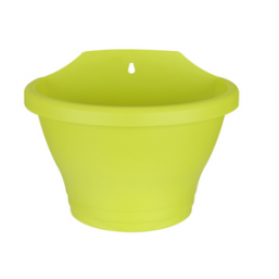 Горшок настенный Corsica 25см lime green