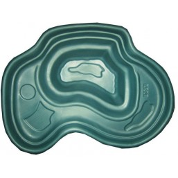Пруд зеленый 200*125*50 см (440л)