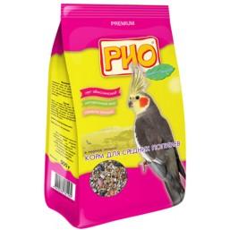 РИО. Корм для средних попугаев в период линьки, 500 г
