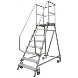 30214005 Лестница платформа с 8-ю алюм ступенями 820181